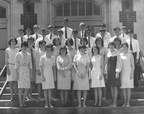 Mr. Fowler's Homeroom about 1966 (tentative ID?)