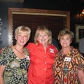 Donna Blankenship Barrow, Peggie Harvey Lewter, Marilyn Fite Akin